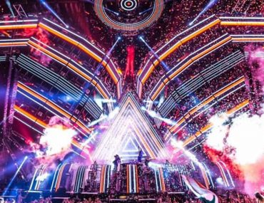 Ultra Music Festival stage