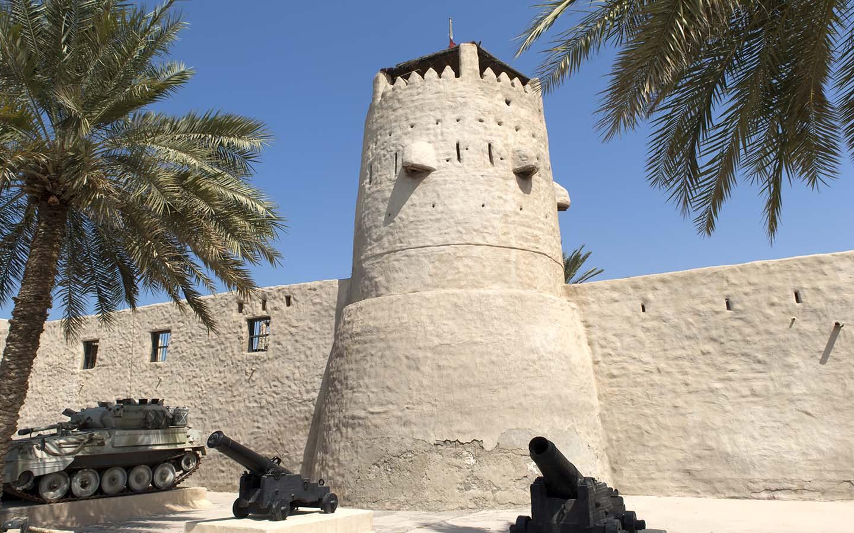 Umm Al Quwain Fort built by Sheikh Rashid