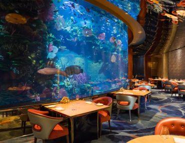 Underwater restaurants in Dubai