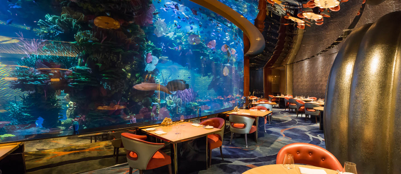 Ресторан в аквариуме дубай порталы зарубежной недвижимости