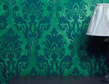 Green Vintage wallpaper