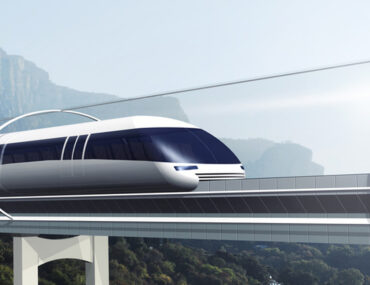 Model view of one of the Upcoming transport Projects in the UAE