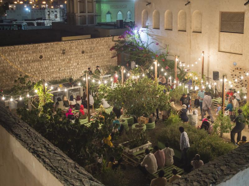 the urban garden in the sharjah art spaces