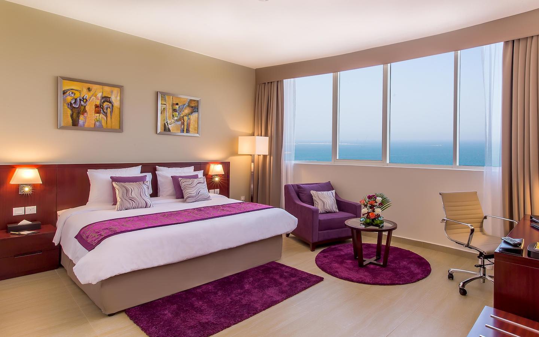 sea facing room in a hotel