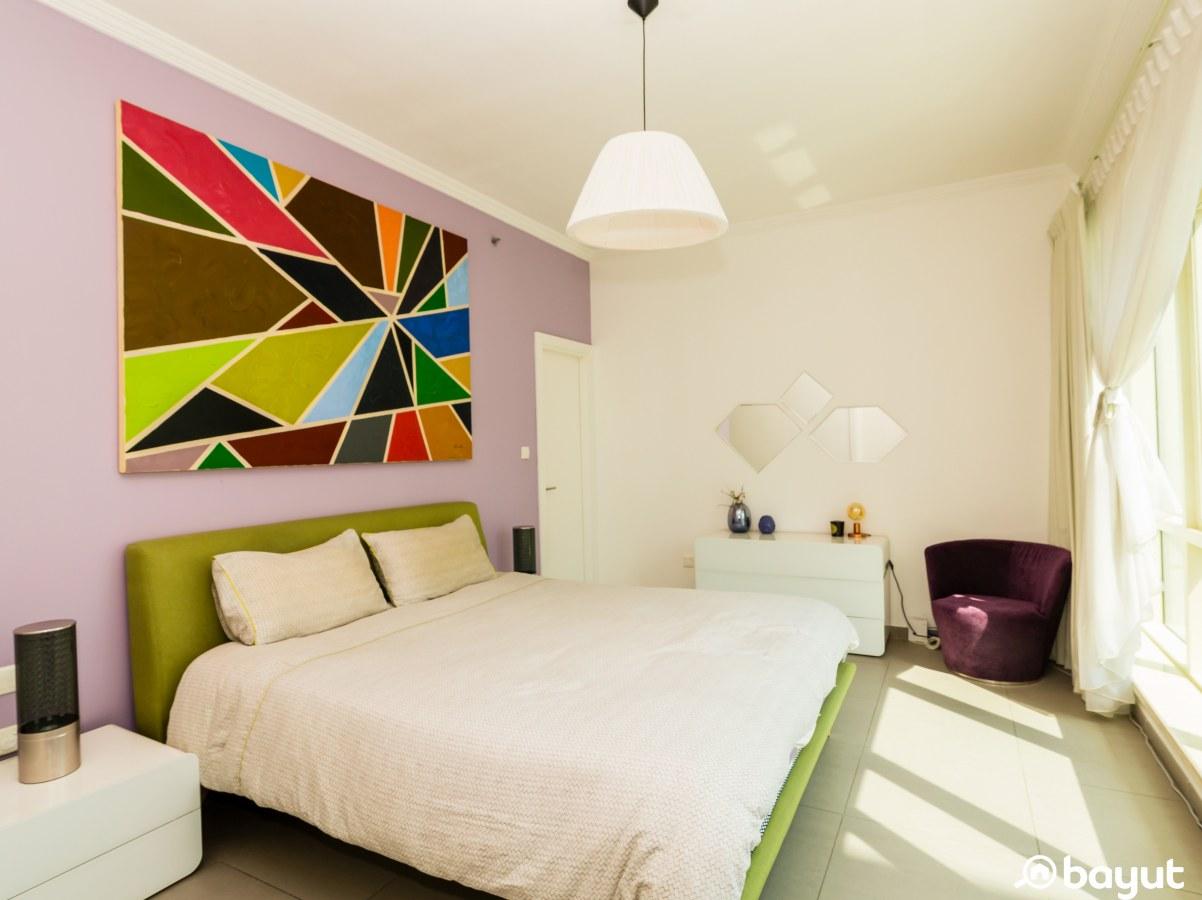 a bedroom in Am Majara tower