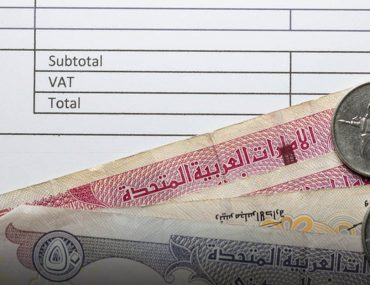 Dirhams and VAT Refund reciept