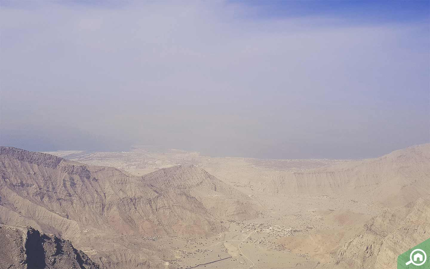 Jebel Jais is one of the biggest mountains in UAE