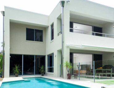A villa with private pool