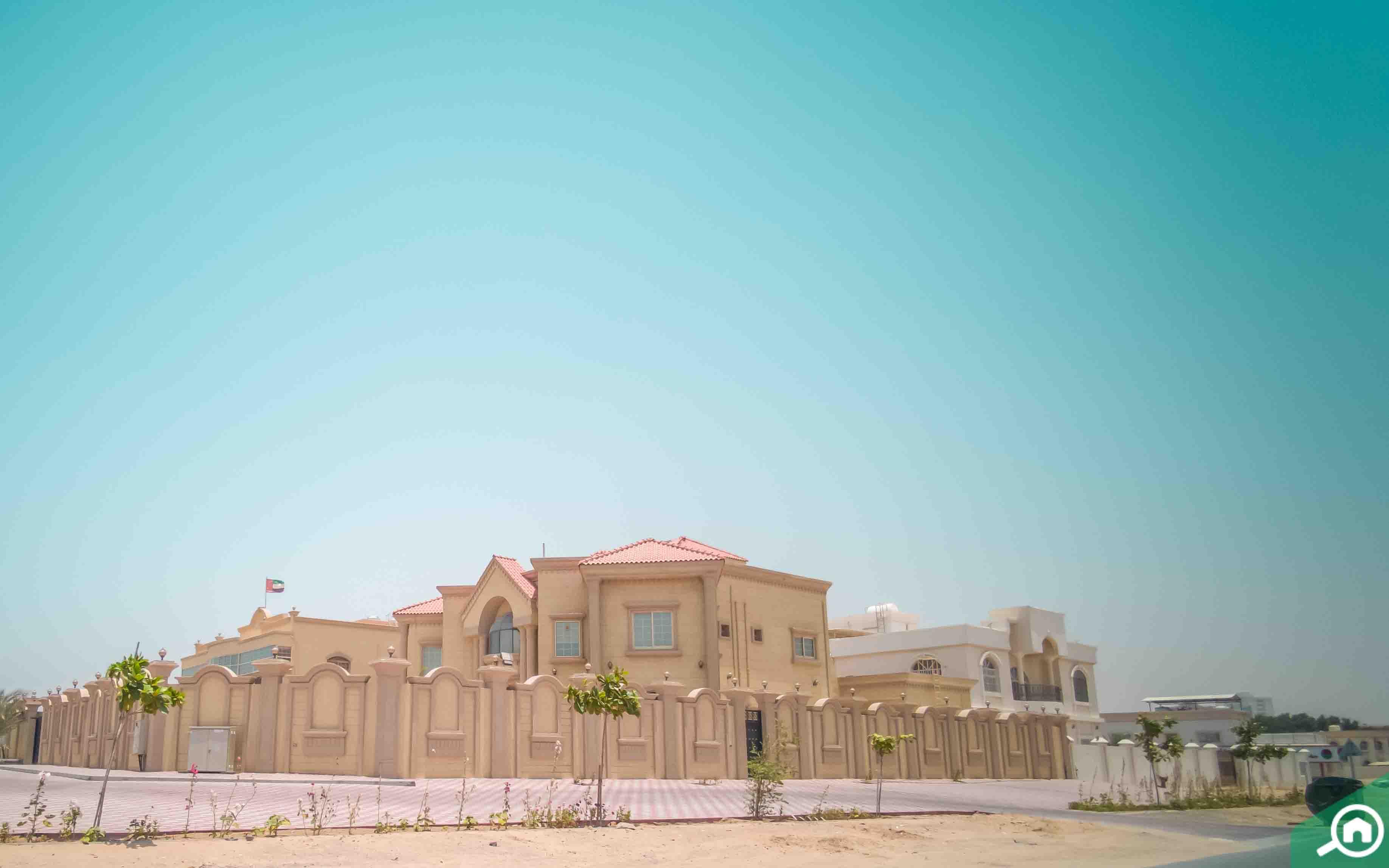Villas in Al Jurf