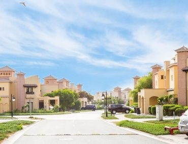 Street view of Mirdif, an affordable area for renting 3-bedroom villas in Dubai