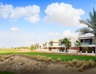 Villas near golf clubs in Dubai