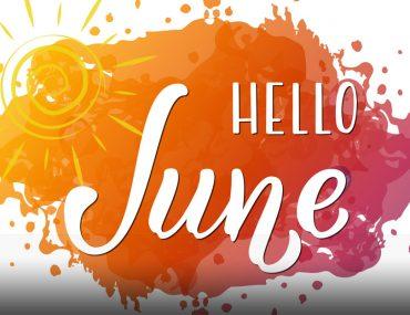 Hello June graffiti