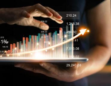 رسم افتراضي للأسهم