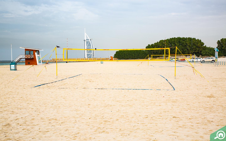 Al Sufouh Beach volleyball court