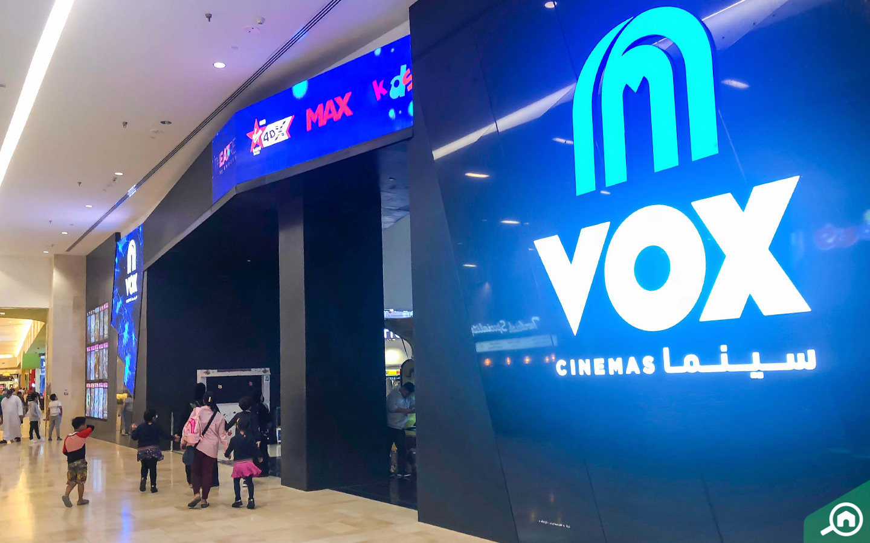 Vox Cinemas at Yas Mall