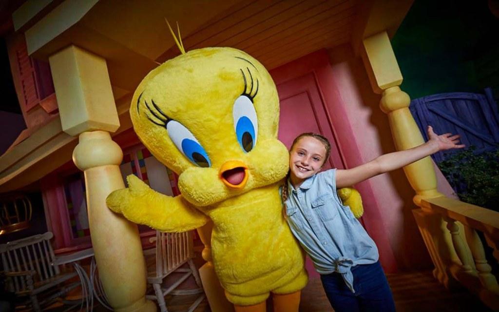 Kid-friendly rides in Warner Bros World Abu Dhabi