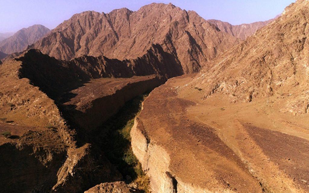 Wadi Wurayah Canyon in Fujairah