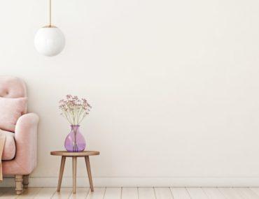 أريكة وردية