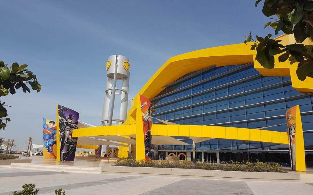 Entrance of WB Abu Dhabi