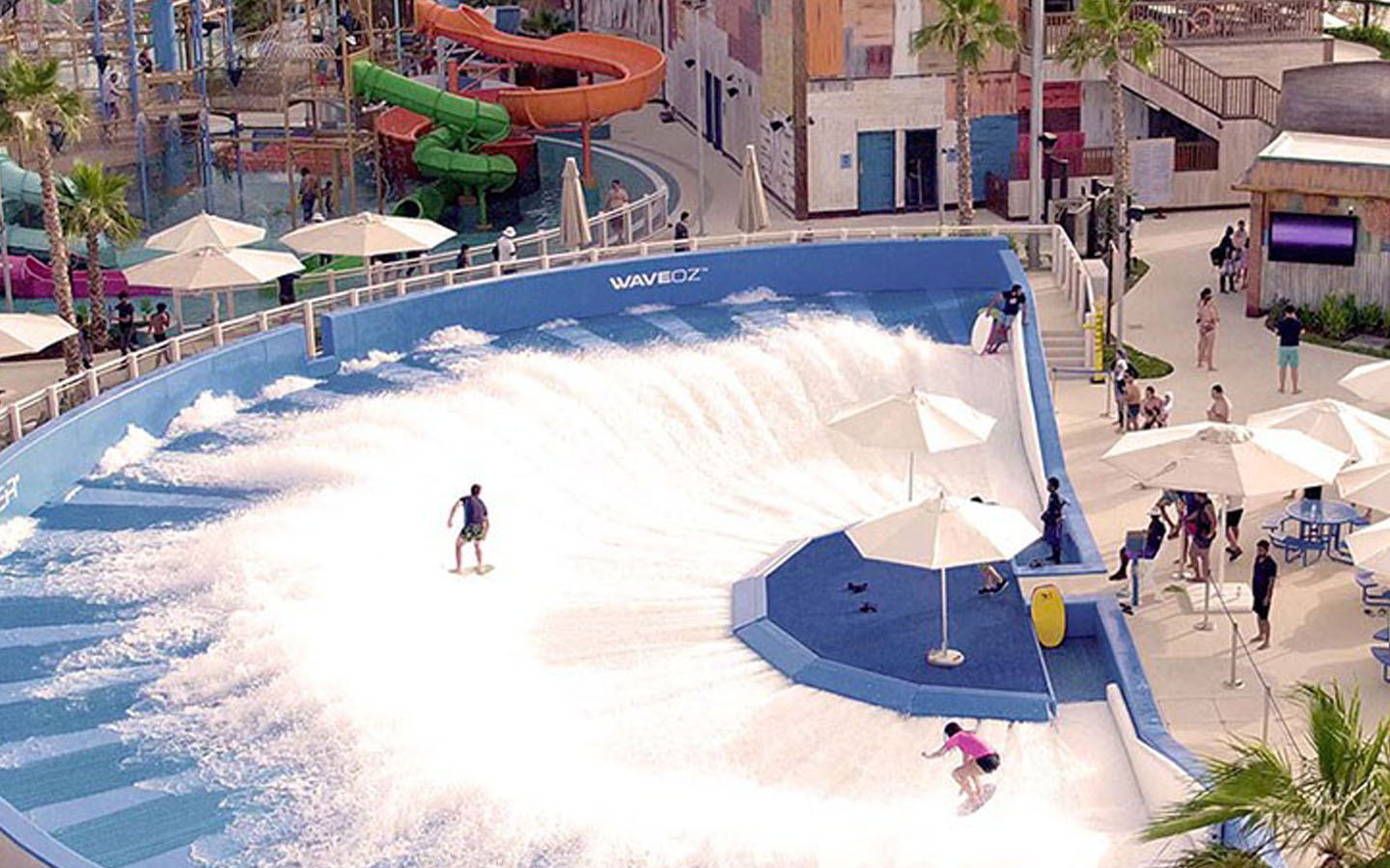 Wave Oz Flow Rider at Laguna Waterpark