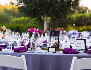 طاولة اعراس