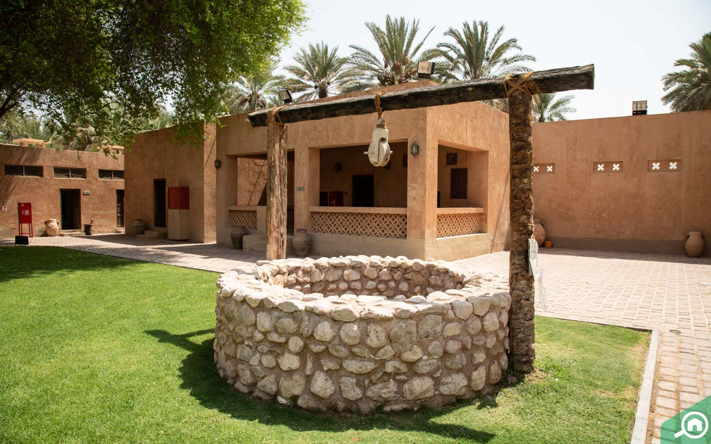 A well at Al Ain Palace