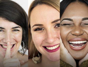 smiling women diversity