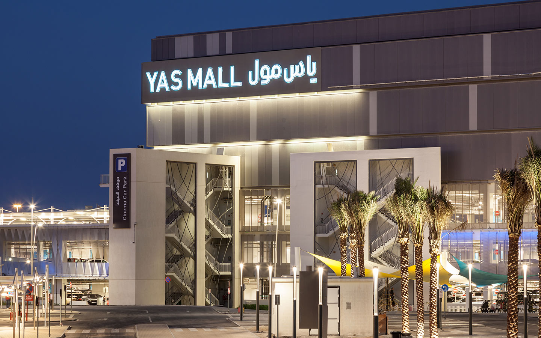Yas Mall in Abu Dhabi