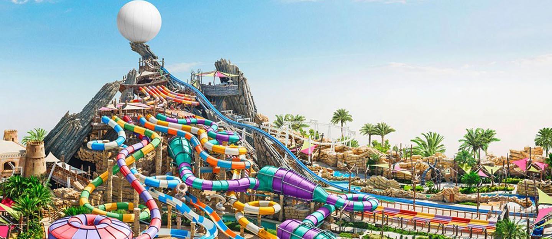 Yas Waterworld at Abu Dhabi
