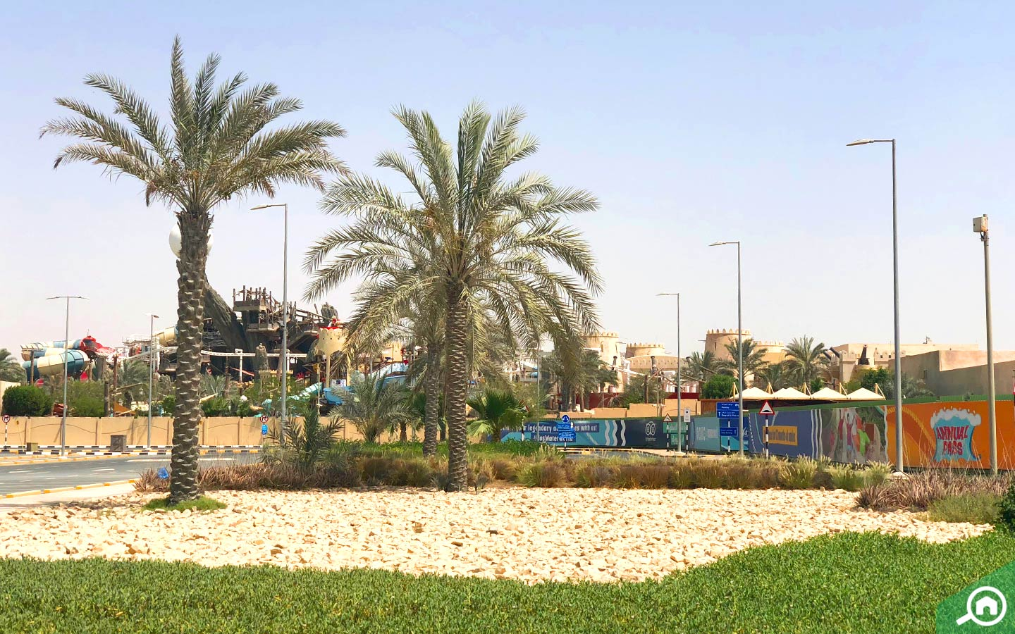 Parks and recreational facilities on Yas Island