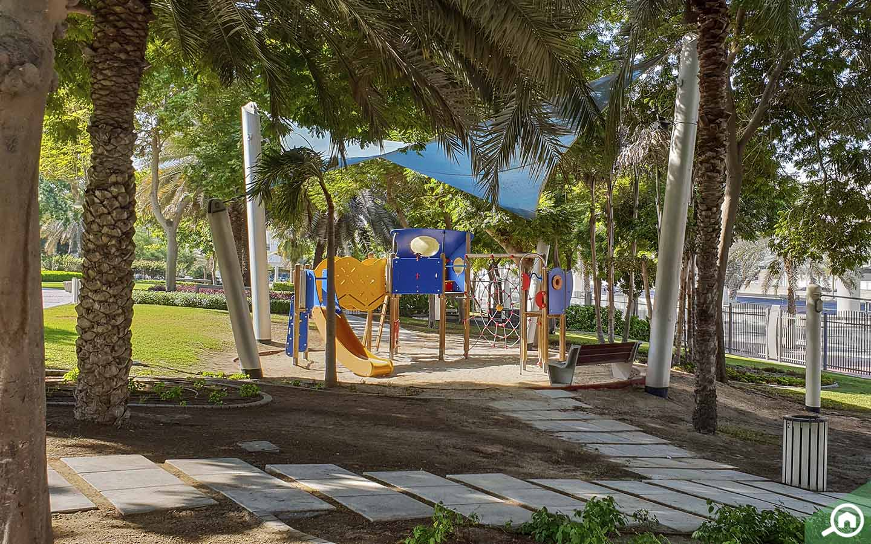 Play area in Zabeel Park - Parks in Dubai