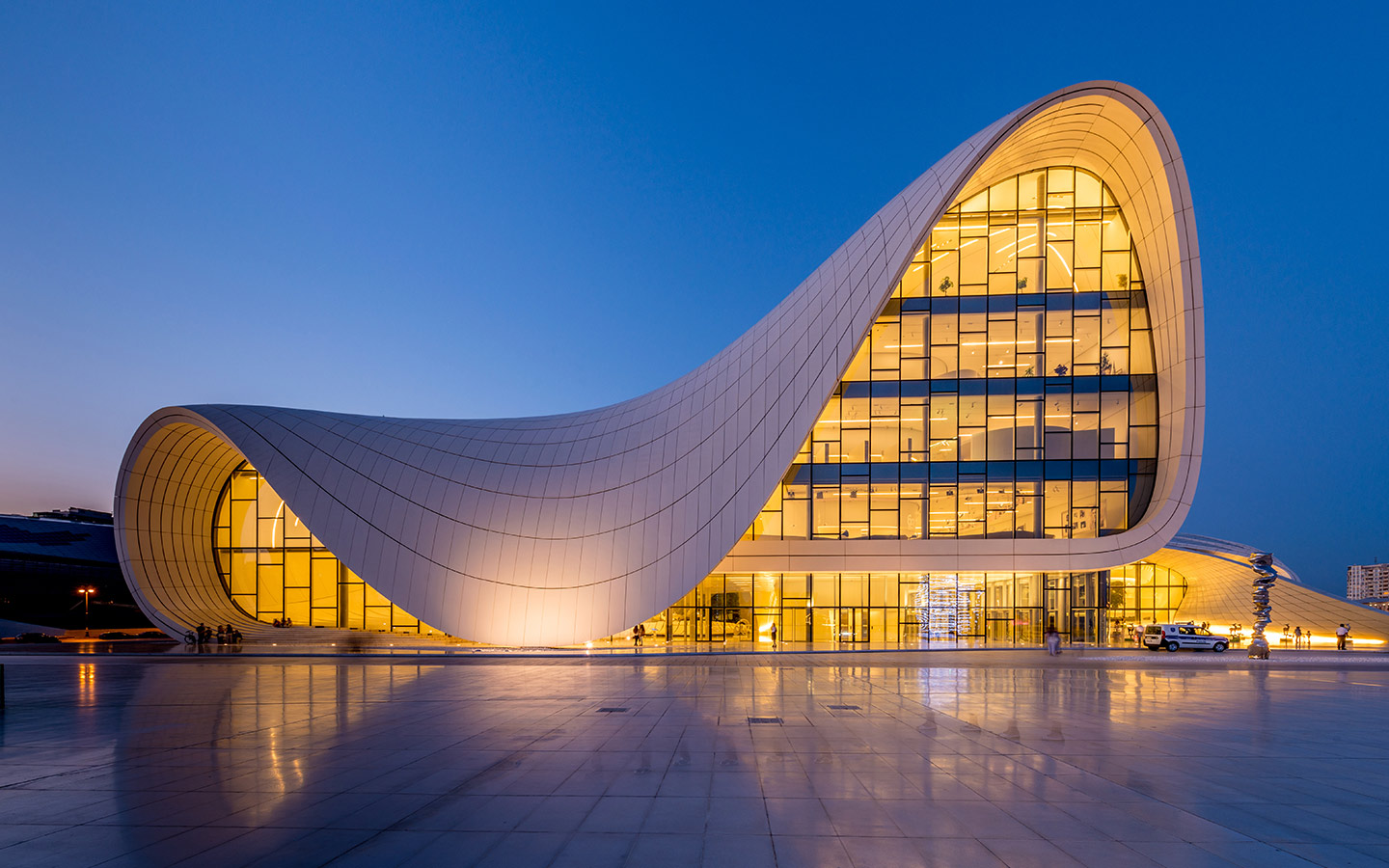 Zaha Hadid design in Baku