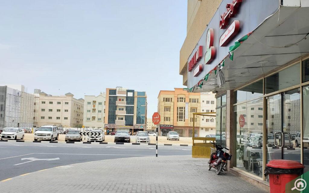 Muwaileh neighbourhood in Sharjah