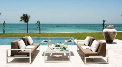 Zaya Nurai Island outdoor lounge