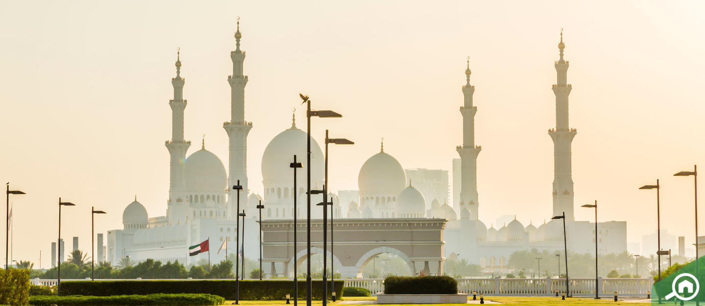 Sheikh Zayed Mosque is an important part of the history of Abu Dhabi