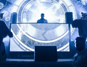 Centre Stage and DJ at Zero Gravity Dubai