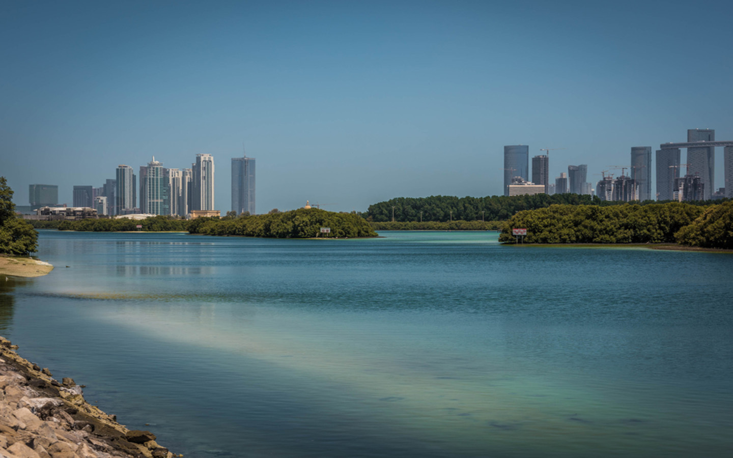 Eastern Mangroves - a place for fishing in Abu Dhabi