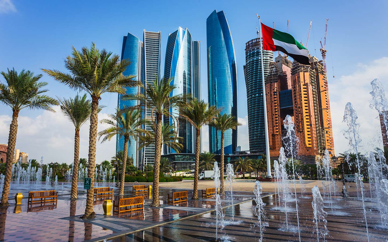 skyscrapers in Abu Dhabi