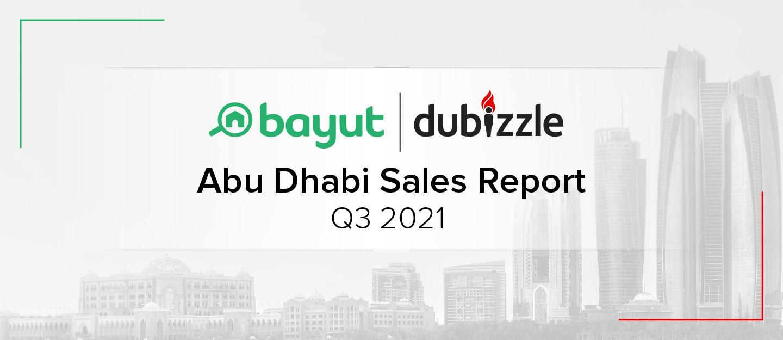 Abu Dhabi sale property market report q3 2021