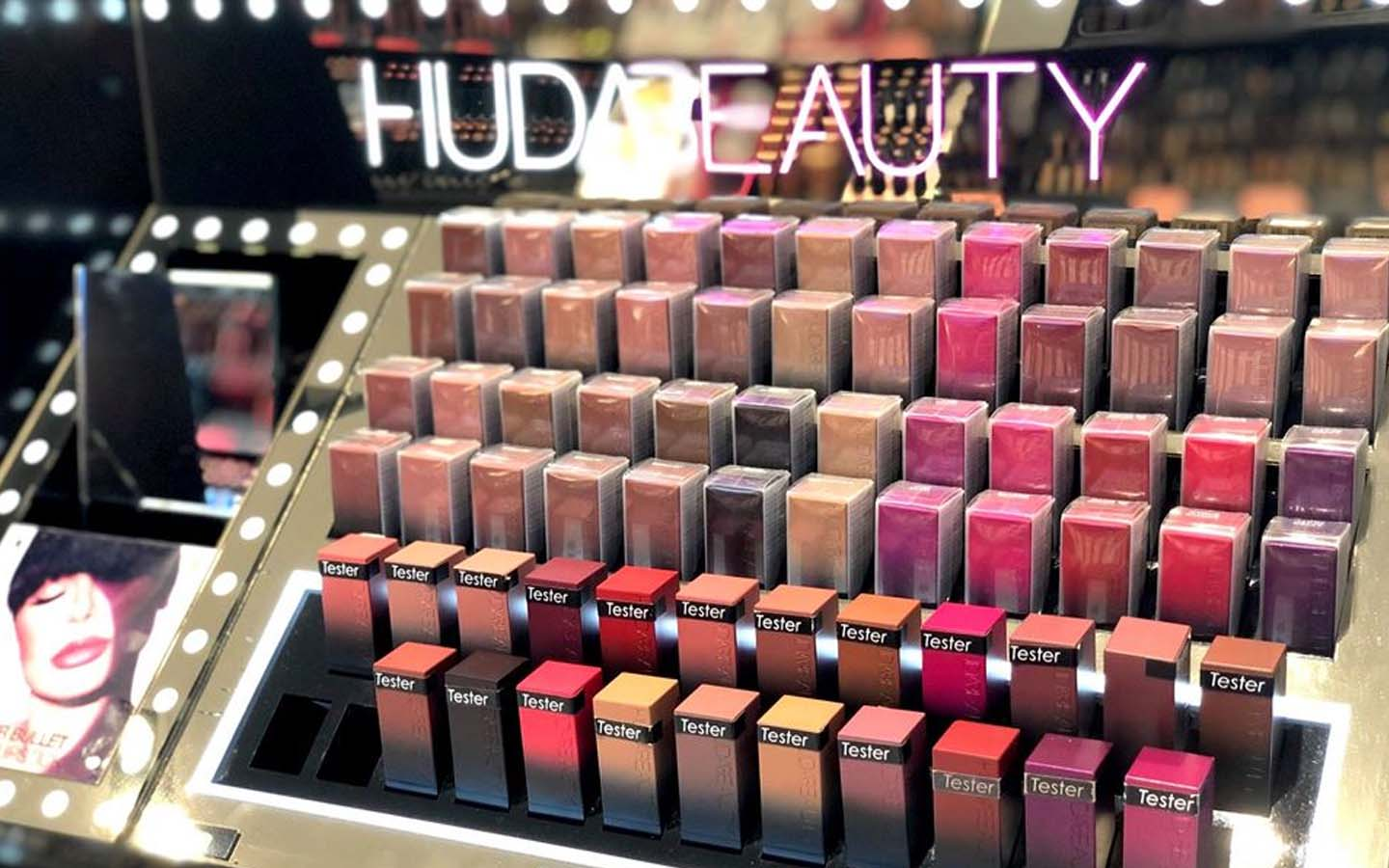 Huda Beauty lipsticks