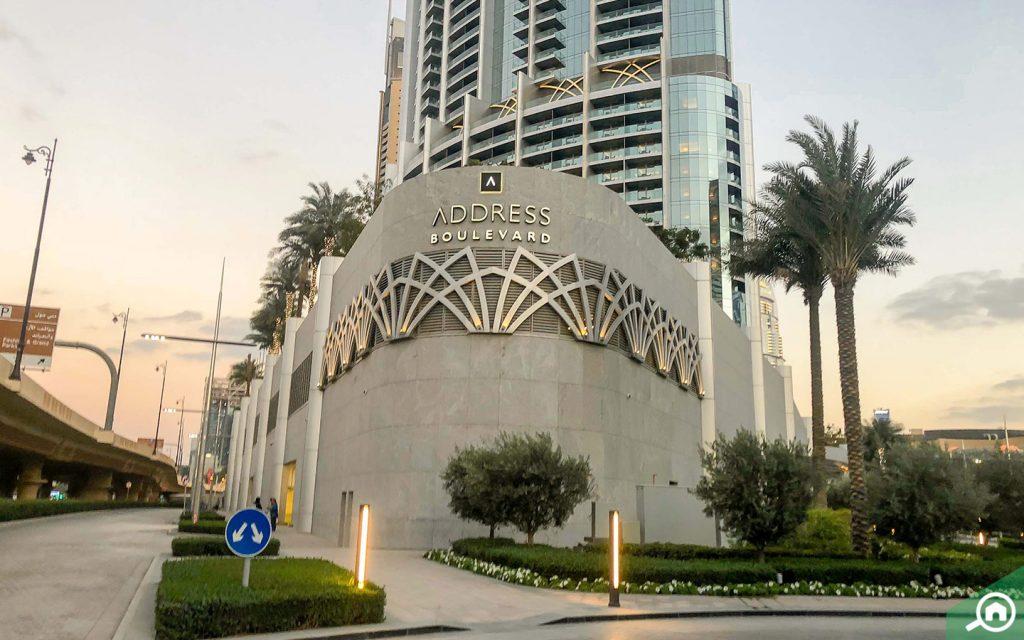 Address Boulevard hotel Dubai