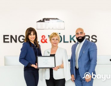 Wajda Khalidi from Engel & Völkers Honoured with Bayut's Agent of the Month Award