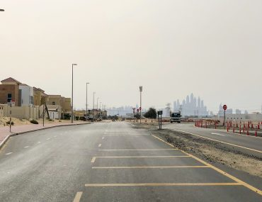 roads and pavements in Al Barsha South