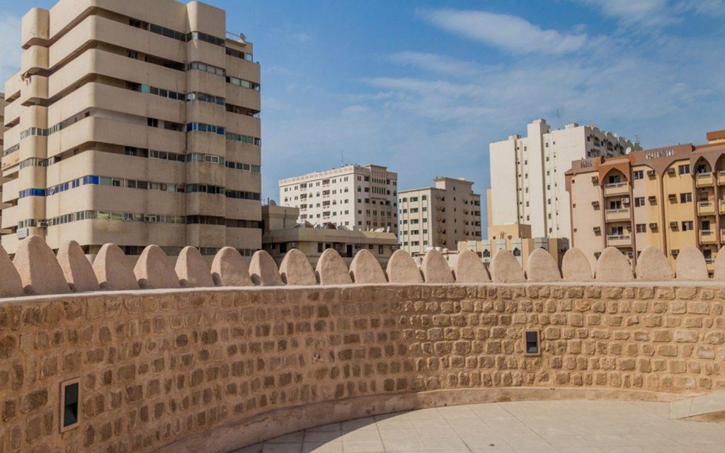 جدار متحف الحصن الشارقة