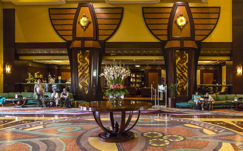 Al Raha hotel from inside