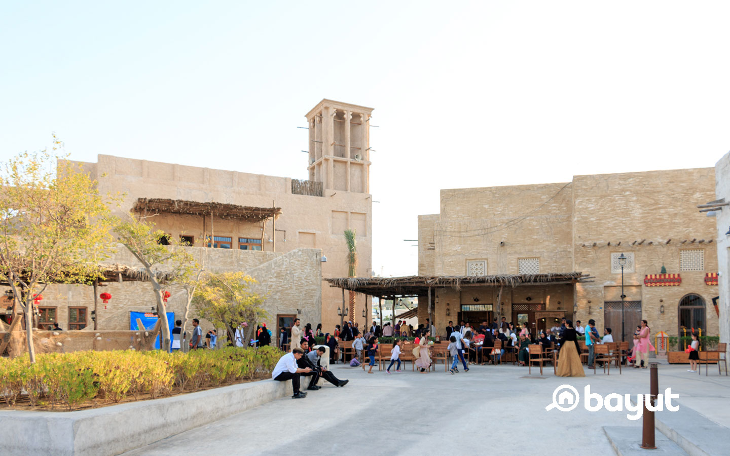 Restaurants in Al Seef include Mamikoniyan, Ila, Brass Cafe and more