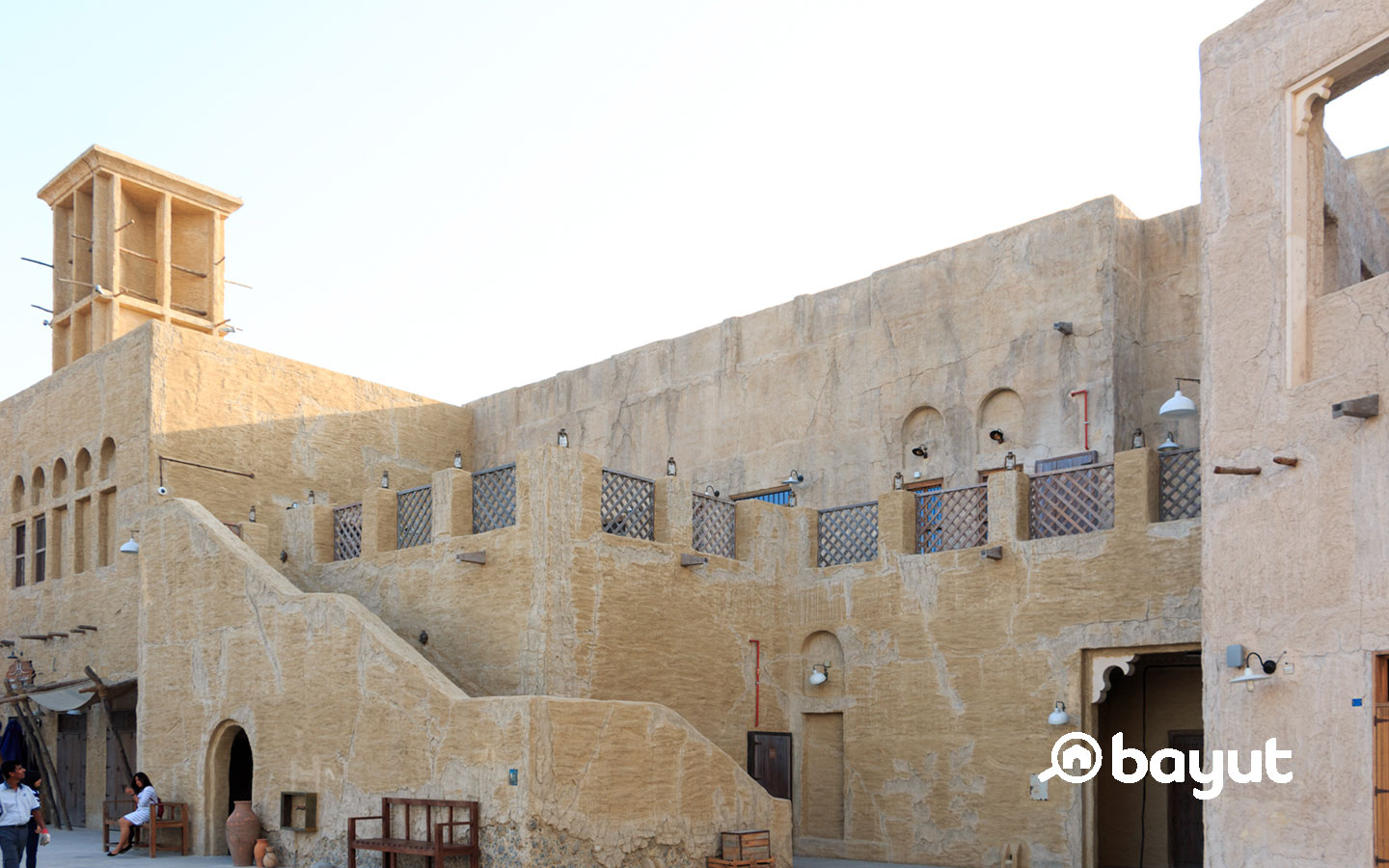 Al Seef Dubai : the traditional Village