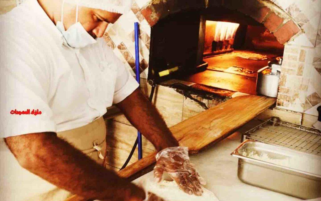 A man makes the dough