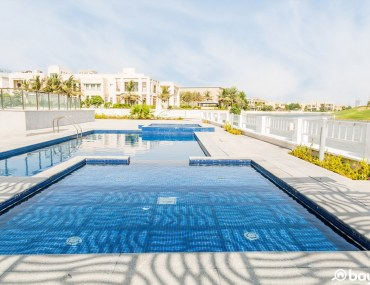A beautiful pool in a private villa in Emirates hills listed with property website Bayut.com
