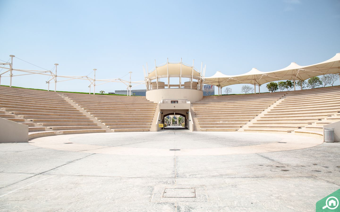 auditorium at Khalifa Park